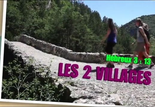 Verset : Les 2 villages